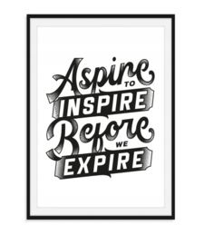 Aspire to inspire - Poster