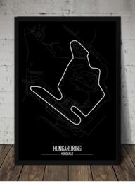 Hungaroring Poster - Minimalistisch