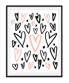 Diverse harten poster - nummer 7