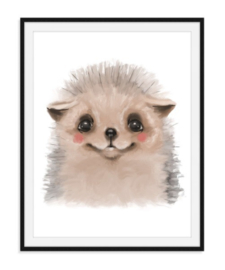 Hedgehog - Egel poster