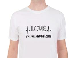 Love mijn hart voor de zorg - Shirt