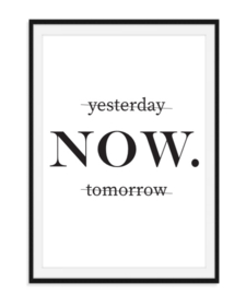 Yesterday Now Tomorrow - Poster