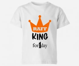 King for 1 day met naam shirt