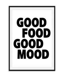 Good Food Good Mood - Poster