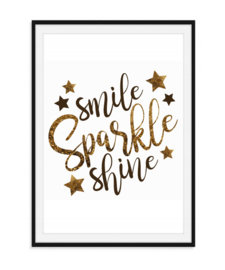 Smile Sparkle Shine - Poster