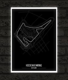 Hockenheimring poster - Minimalistisch
