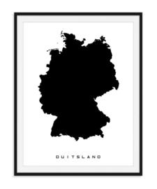 Duitsland - Favoriete landen op poster