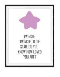 Twinkle Twinkle little star - Poster