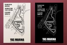 Yas Marina Circuit - Winner Max Verstappen