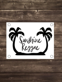 Tuinposter Sunshine Reggae - Diverse formaten