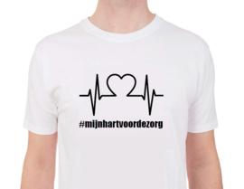 Mijn hart voor de zorg - Shirt