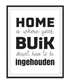 Home is where your buik - poster