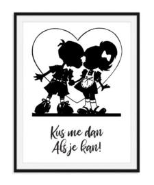 Kus me dan als je kan - poster