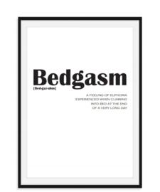 Bedgasm - Poster