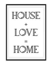 House Love Home - Poster