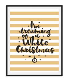 I'm dreaming - Poster Kerst