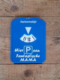 Parkeerschijf voor vader of moeder