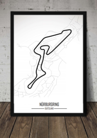 Nürburgring Grand Prix Circuit - Minimalistisch