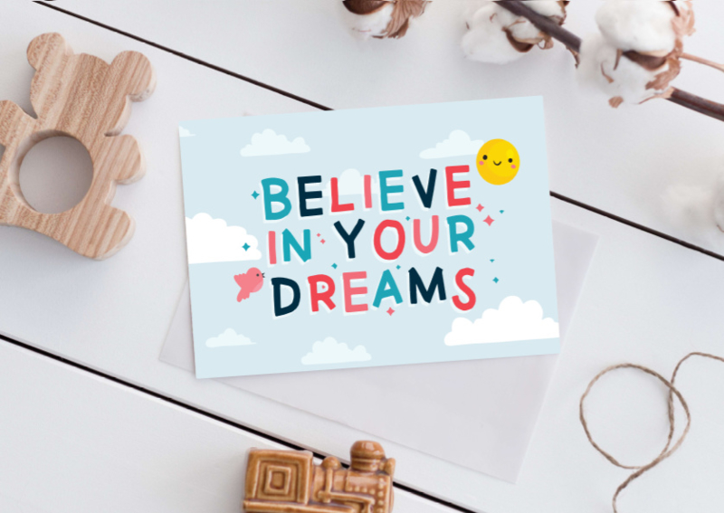 Believe in your dreams - Poster