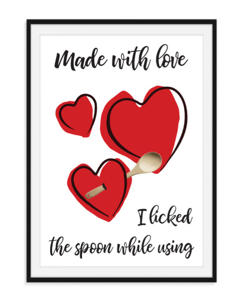 Made with love - Poster