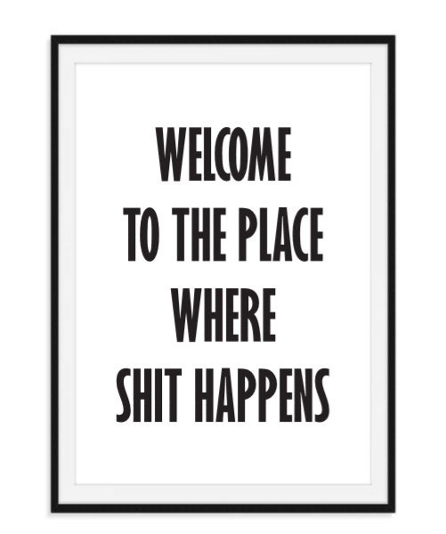 Welcome to the place - Poster