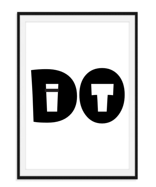 Do It - Poster