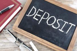 Deposit only