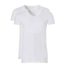 Shirt V-hals Basic Ten Cate
