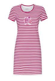 Nachthemd Ringella roze gestreept