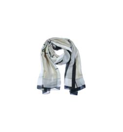 Sjaal Maxima Taupe/Beige gestipt