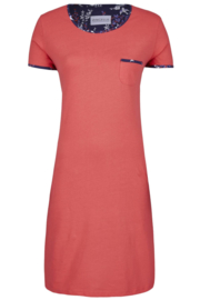 Nachthemd Ringella korte mouw rood