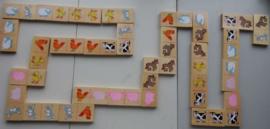 boerderijdieren-domino (berken-hout)