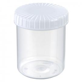 Pot 180 ml kunststof pp incl schroefdeksel
