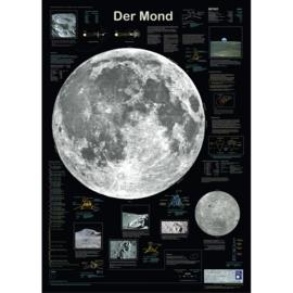 Poster Maan    Der Mond