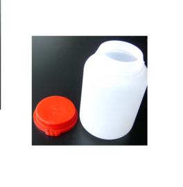 "Pot met rode ""sluitings-garantie"" deksel"