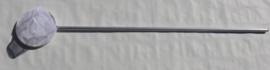 Slootnet 20 cm grofmazig  (1 mm)  aluminium steel