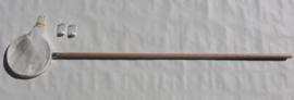 Planktonnet  30 mu  (0,3 mm) houten steel