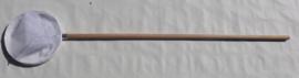 Slootnet 25 cm grofmazig  ( 1 mm) houten steel
