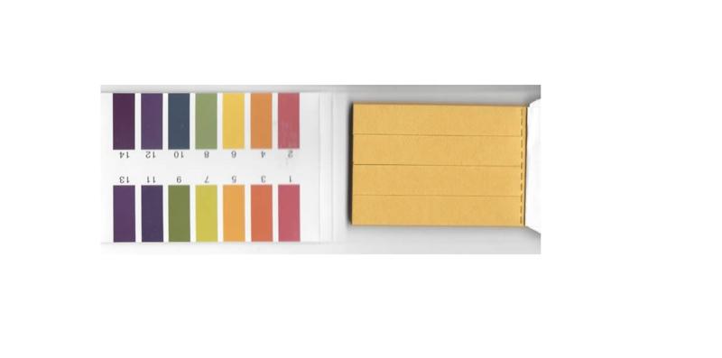 pH strookjes (boekje)