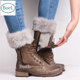 Bootcuffs grijs