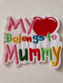 Applicatie My heart belongs to mummy