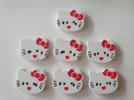 Hello Kitty knopen 7 stuks