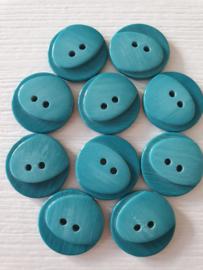 Blauwe knopen  10 stuks
