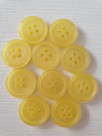 Gele ronde knopen