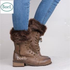 Bootcuffs bruin