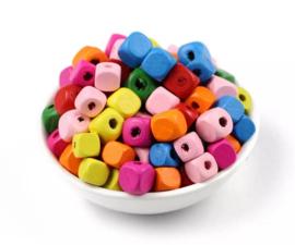 Gekleurde kraaltjes 25 stuks