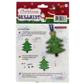 Viltpakket voor kinderen - Kerstboom hanger