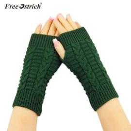 Groene handwarmers