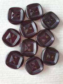 Donker Paarse Knoopjes 10 stuks