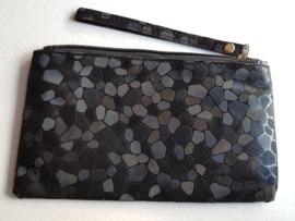 Zwarte clutch - toillettasje